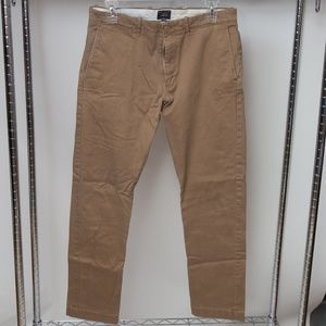 J Crew 484 Slim-fit pant in stretch chino 30x30